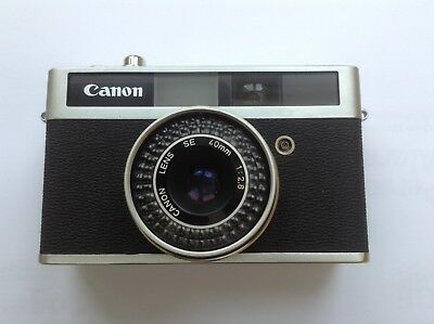 Canon Canonet Junior 35mm Rangefinder Film Camera with 40mm f/2.8 Lens