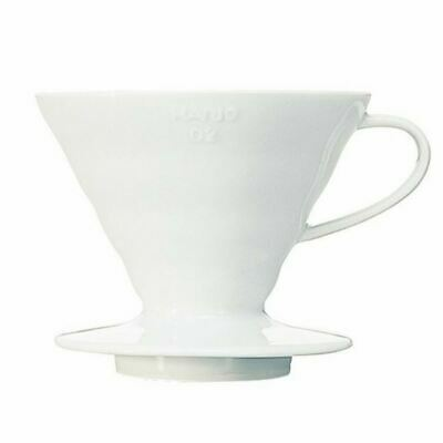 Hario V60 Handcrafted Pour Over Coffee Dripper with Coffee Scoop