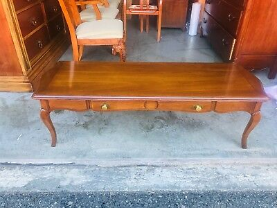 Beautiful Vintage Drexel Heritage French Provincial Style Coffee Table L K