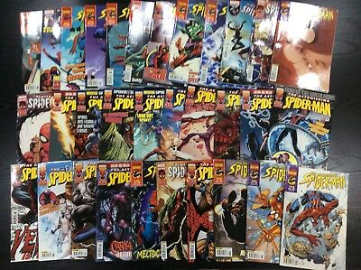 Astonishing Spiderman comics job lot x33 Collectors editions