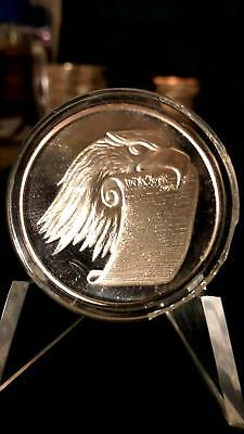 Free the Eagle & Constitution 1 Troy Oz .999 Fine Silver Round Proof Coin