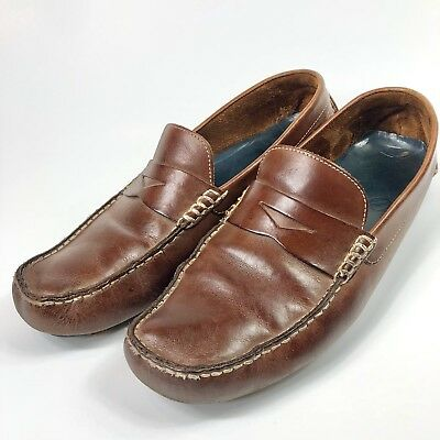 a6b0a8b3df0 MSRP  148 COLE HAAN DRIVER Moccasin Howland Penny Loafer Shoes Mens 8.5 M