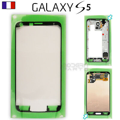 Autocollant Ecran LCD sur Chassis Samsung Galaxy S5 G900 i9600 Sticker Adhesif