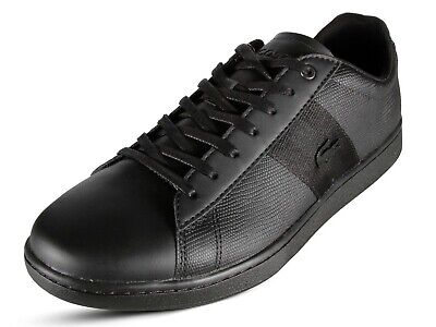 a286185f4 Lacoste Carnaby EVO 119 5 SMA Men s Casual Leather Black Sneakers 7 -37SMA001202H