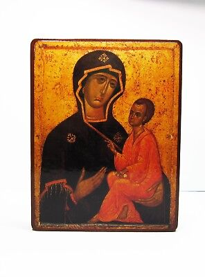 Orthodox Russian icon Tikhvin icon of the Mother of God, Mother of Jesus Christ