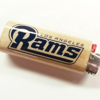 Los Angeles Rams Lighter Case Holder Sleeve Cover Fits Bic Lighters