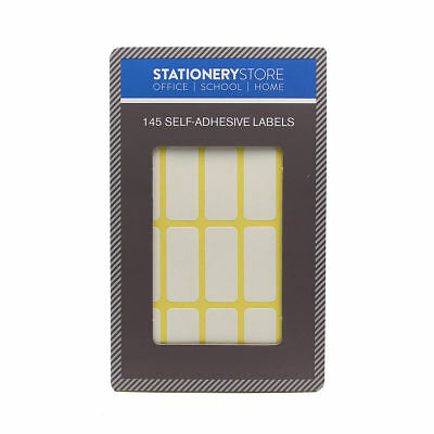 145 White Sticky,File, Jar Labels,Tags,Blank,Plain Self Adhesive stickers,Files