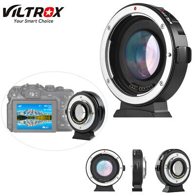 Viltrox EF-M2II Auto Focus Lens Mount Adapter 0.71X for Canon EOS EF Lens C8O9