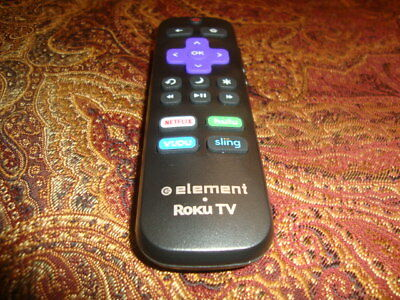 ELEMENT RUKU 101018E0011 Smart Ultra Hd Tv Remote Netflix
