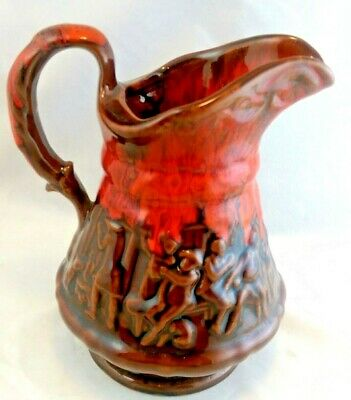 Naughty McMaster Craft MCM Pottery Pitcher Souvenir Brandon Manitoba Canada