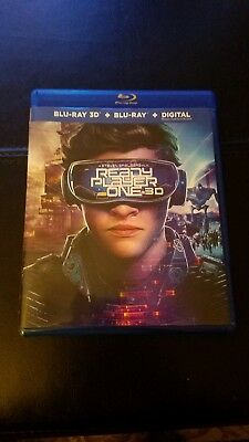 Ready Player One (Blu-ray & Digital only) with case. NO 3D DISC
