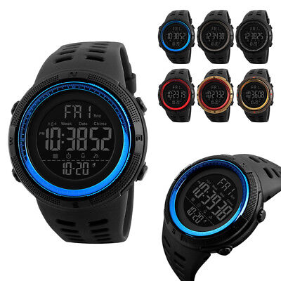 SKMEI Mens Smart Watches Bluetooth Digital Sports Wrist Watch Waterproof ZNK