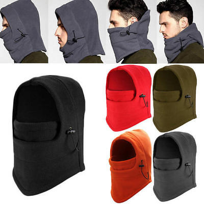 Fleece Scarf Premium Neck Warmer Snood Hood Hat snood Full Face Cover Mask