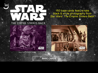 2019 Topps Star Wars Empire Strikes Back Black and White Sepia Pick From List