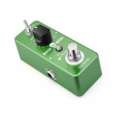 Donner Noise Killer Guitar Effect Pedal Noise Gate Pedal 2 Modes Green