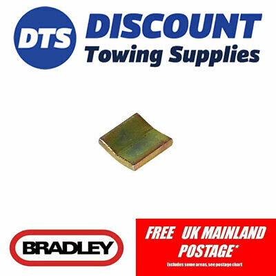 Bradley Replacement Jockey Wheel Pad For HU3 Trailer Couplings
