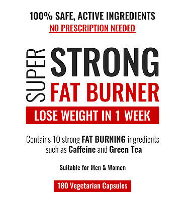 Rapid Weight Loss Extreme Pills Very Strong Slimming Tablets Fat Burners