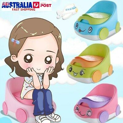 2 in1 Kid Car Safely Seat Baby Toddler Potty Urinal Toilet Home Training Trainer