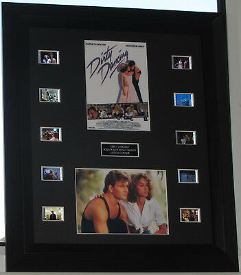 """dirty Dancing"" Framed Film Cell Mounted Cells Patrick Swayze"