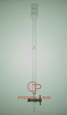 Proglass Fritted Chromatography Column  16mm=OD 24/40 Joint