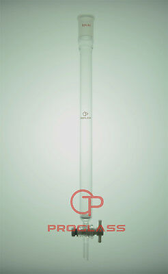 Proglass Fritted Chromatography Column  22mm=OD 24/40 Joint