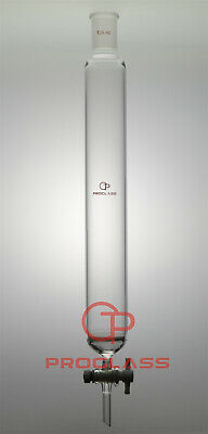 Proglass Fritted Chromatography Column  40mm=OD 24/40 Joint