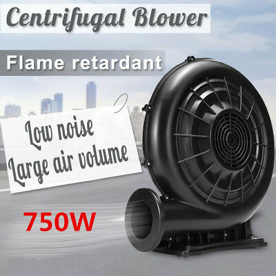 610/750W 220V Electric Air Fan Blower Pump Inflatable Screen Jump Castles Tent