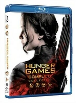 Hunger Games - Complete Collection (4 Blu-Ray Disc)