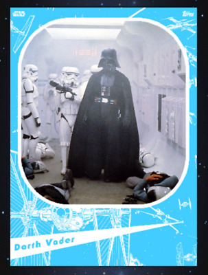 Topps Star Wars Card Trader Marathon 2019 A New Hope Darth Vader Blue