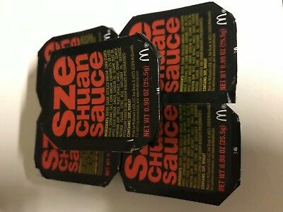 1x Szechuan Mcdonalds Sauce Express Post Rick and Morty Limited Edition