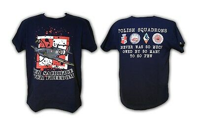 T- SHIRT, OUR Sacrifice Your Freedom, 303, Polish Squadrons, Battle Of  Britain