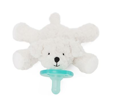 Wubbanub Infant Newborn Baby Soothie Pacifier - Limited Edition Birthday Bichon