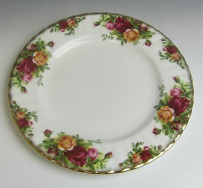 Royal Albert China OLD COUNTRY ROSES Salad Plate(s) VERY GOOD
