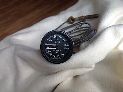 Smiths Vintage Oil / Water Capillary Gauge