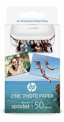 HP 1RF43A ZINK Sticky-backed photo paper Gloss Paper-50 sht/5 x 7.6 cm