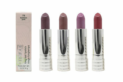 Clinique Long Last Lipstick Rouge Longtemps 0.14oz New In Box(Choose Your Shade)