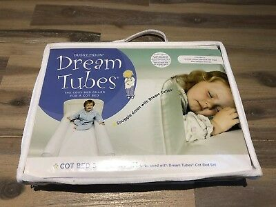 Dusky Moon Dream Tubes Cot Bed Spare Sheet