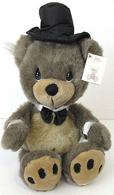 "1996 Precious Moments Groom Bear Plush Stuffed Teddy Animal 17"" NEW"