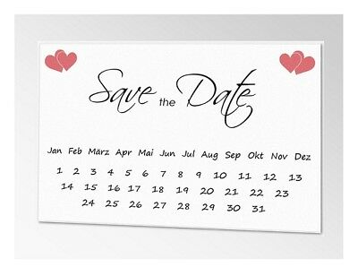 10x Save The Date Karten Wir Heiraten Postkarten Vorankundigung