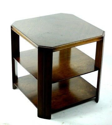 Vintage Remploy Deco Style Oak Coffee Side Table - FREE Shipping [PL4862]
