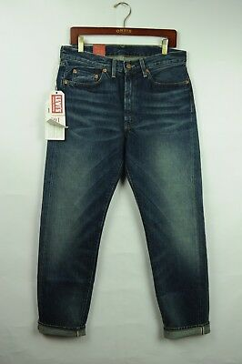 62c91489425 LVC Levi Vintage Clothing 501 1954 Selvedge denim jeans BIG E 32x32 #  50154-0066