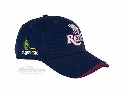 NEW Queensland Reds 2019 Media Cap by Dynasty Sport