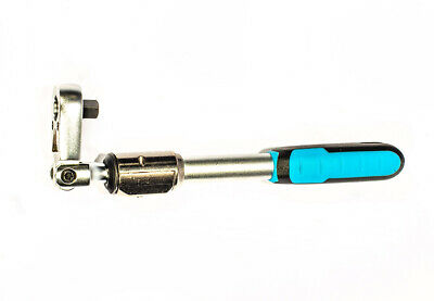 """A-KH6014F 1/4"""" Drive Extendable Flexi-Head & Reversible Ratchet Wrench 60 Teeth"""