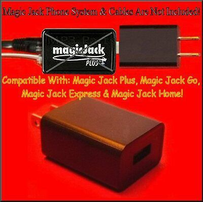 BEST QUALITY. USB Power Supply FOR Magic Jack Adapter MagicJack Plus Express GO
