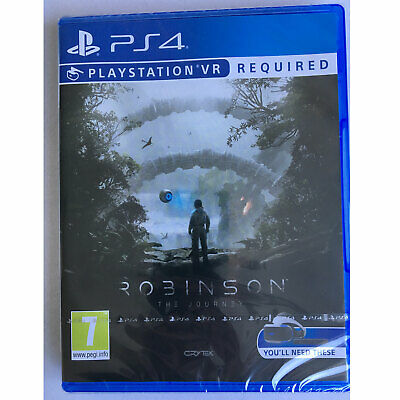 Robinson The Journey VR (PS4) New and Sealed - PS Playstation VR Required