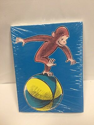 Curious George Blank Cards Set of 8 Designers Collection American Greetings