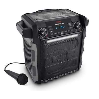 ION Audio Pathfinder 2 Speaker with Radio & Microphone (For Parts)