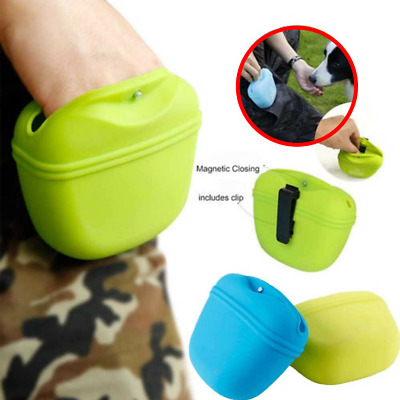 NEW Popware Pooch Pouch Dog Puppy Training Treat Bag Obedience Clip On Holder
