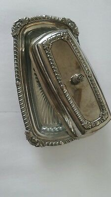 Pair of PSL Sheffield Silver Plate burriera