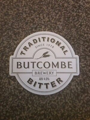 Butcombe Traditional Bitter 2 Beer Pump Clip Breweriana Brand New Free Fast P+P